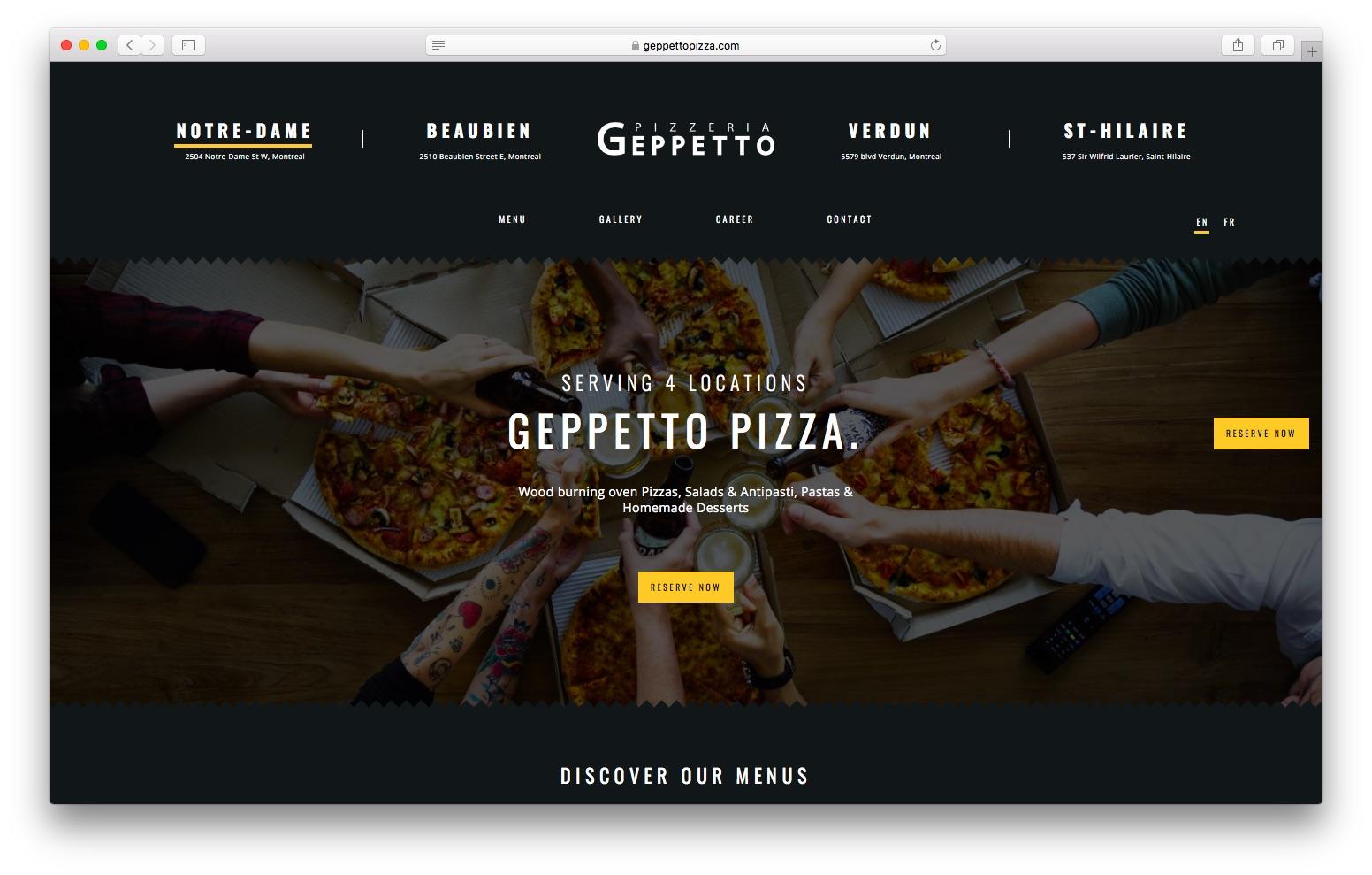 Geppetto Pizzeria